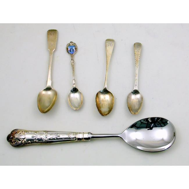 Collection of Silver Spoons