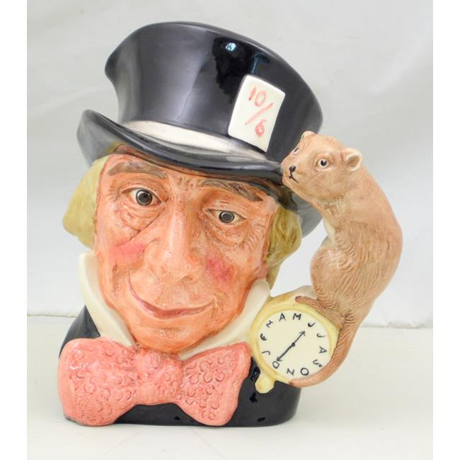 Royal Doulton Large Character Jug Mad Hatter