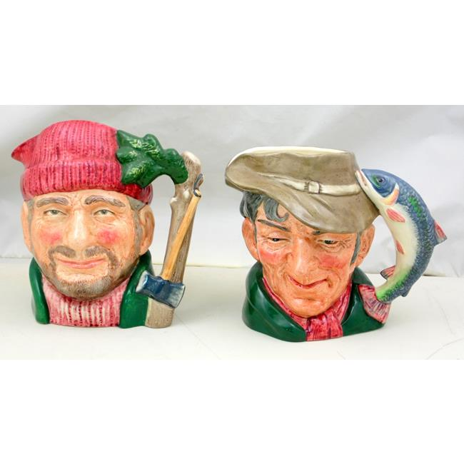 Royal Doulton Large Character Jugs