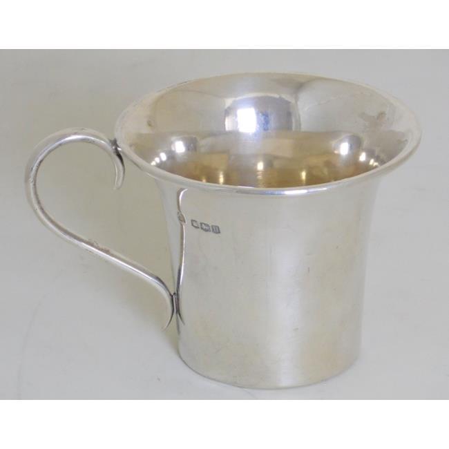 Sterling Silver Mug c.1930