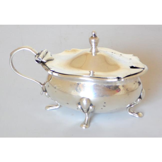 Sterling Silver Mustard Pot 1922