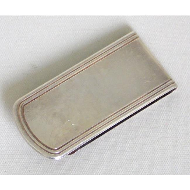 Sterling Silver James Bond Money Clip.