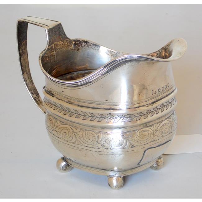 Georgian Sterling Silver Milk Jug by John Lias