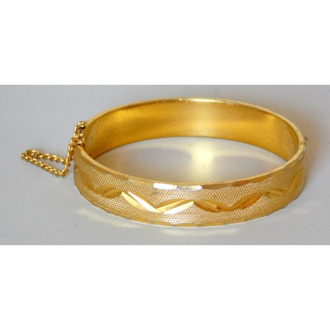18ct Rolled Gold Bangle