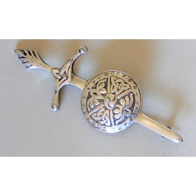 Sterling Silver William Wallace Style Brooch
