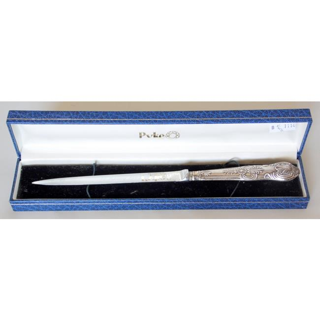 Sterling Silver Mounted Presentation Paper Knife