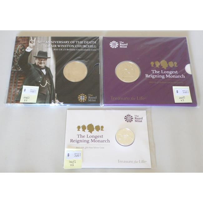 Silver Royal Mint Uncirculated and Sealed Coins