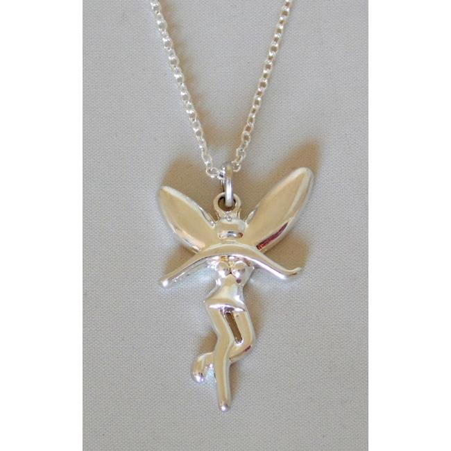 Sterling Silver Fairy Pendant / Chain