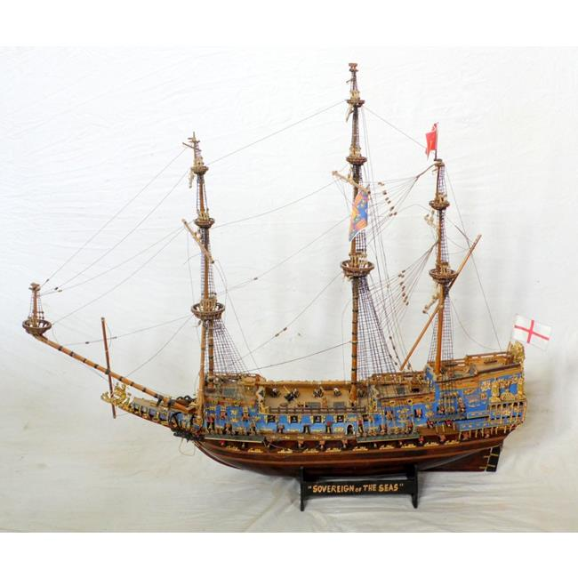 "Ship Model""Sovereign of the Seas17thc Warship"