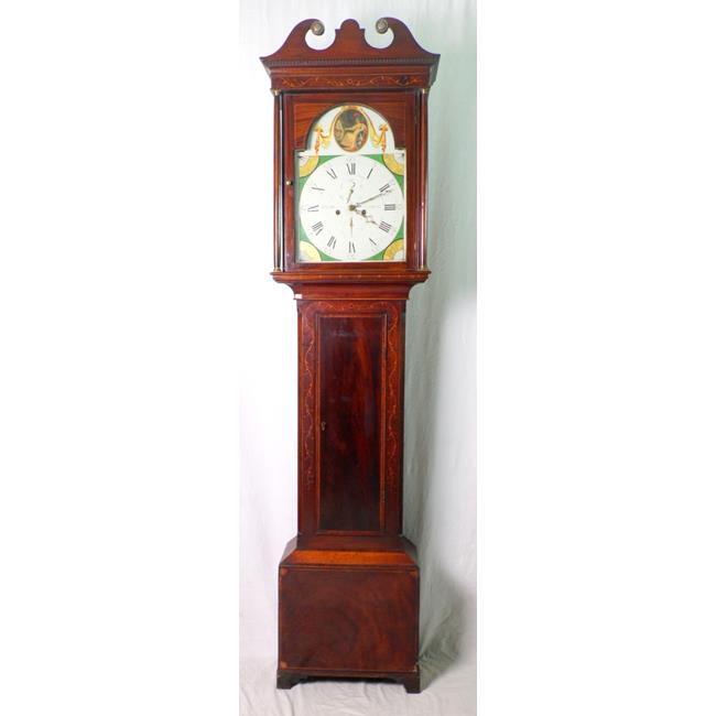 Georgian JAs Liddell,Johnstone Longcase Clock