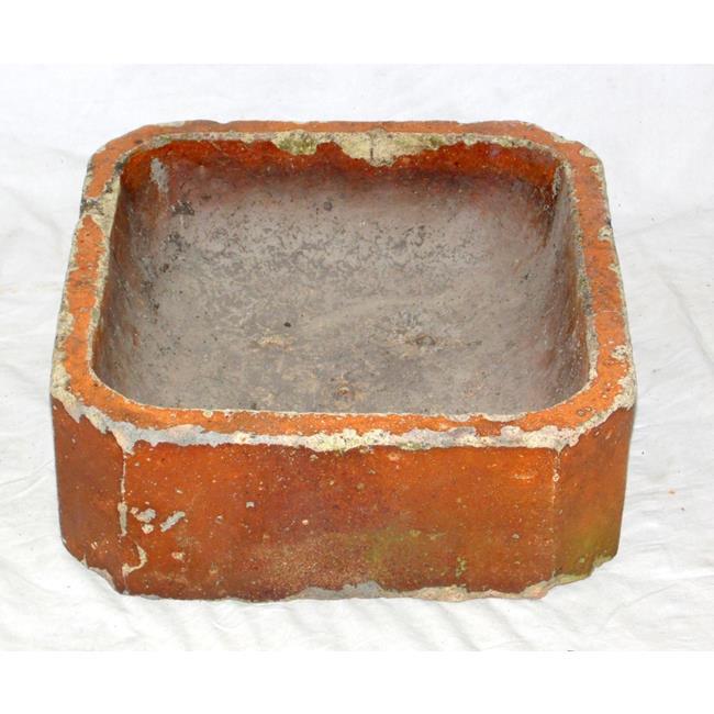 Vintage Salt Glaze Brown Stone Trough