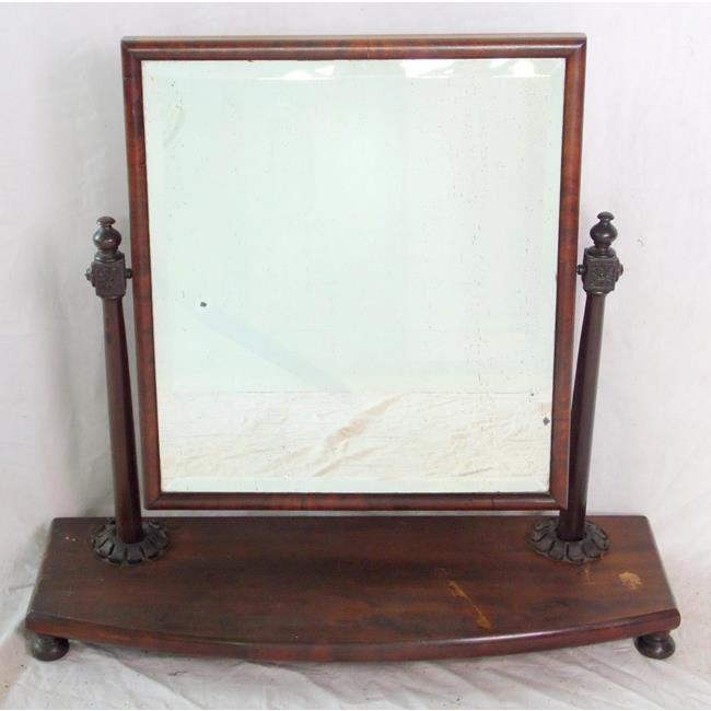Victorian Dressing Chest Mirror. 19thc