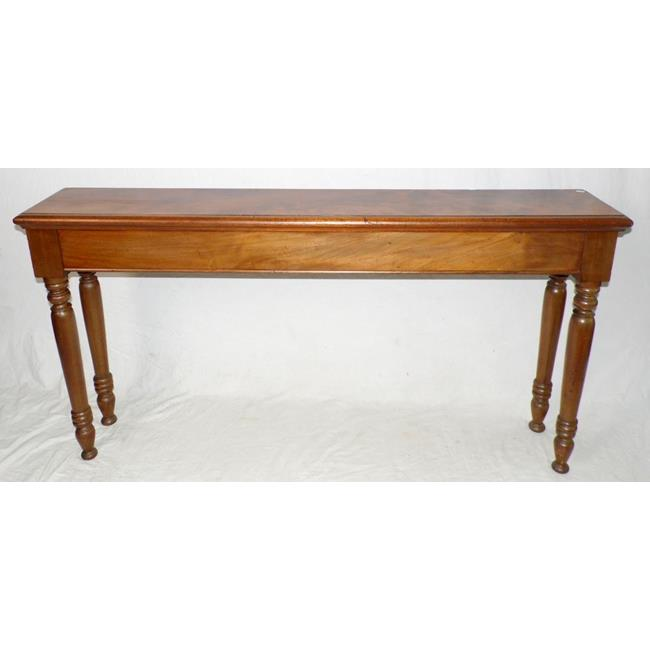 Antique Long Mahogany Side/Hall Table 1850s