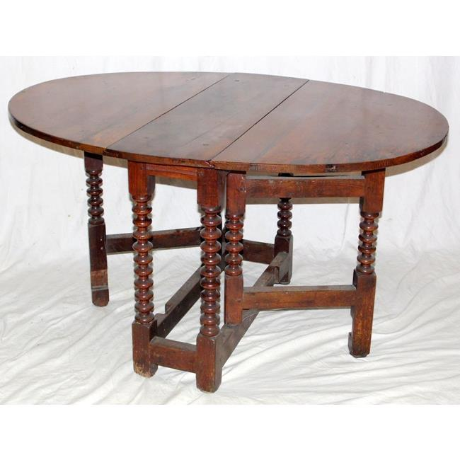 A 17th Century Oak Gateleg Table