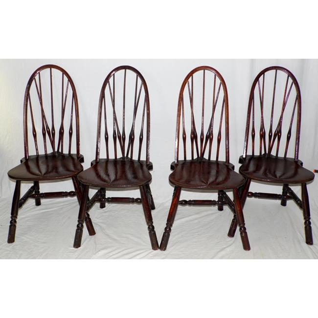 Antique Rhode Island Style Windsor Side Chairs