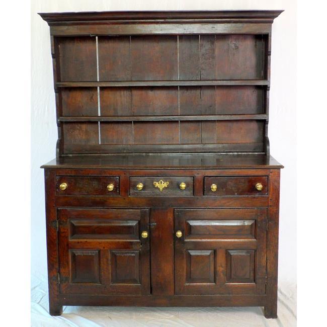 18th Century Denbighshire Period Oak Dresser