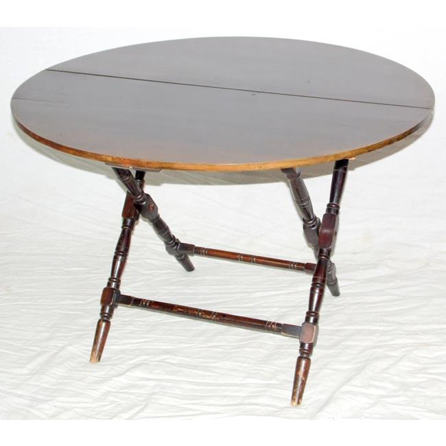 Antique Thornton & Herne Folding Campaign Table