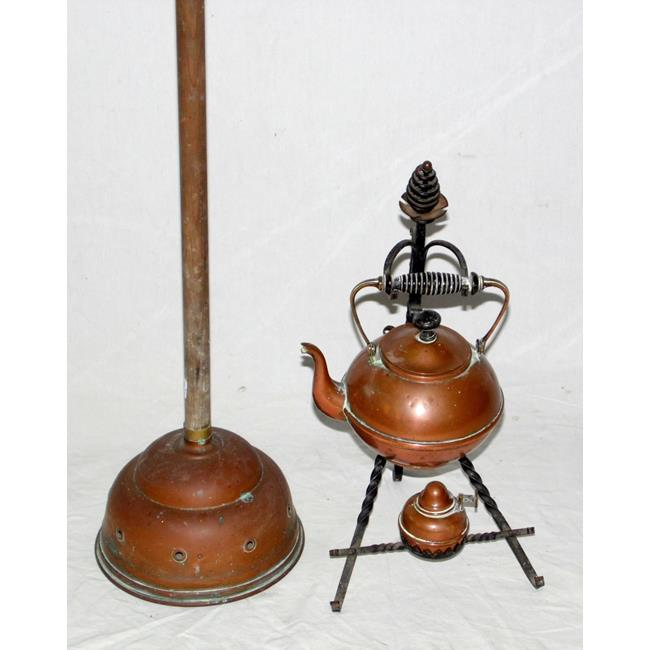 Antique Copper Spirit Kettle/Burner