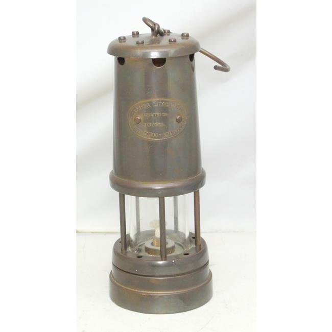 A Brass Miners Lamp