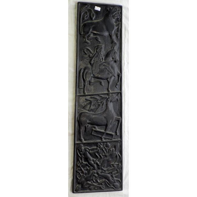 """Irish""""Bog Art- Peat  Plaque. 20thc"""