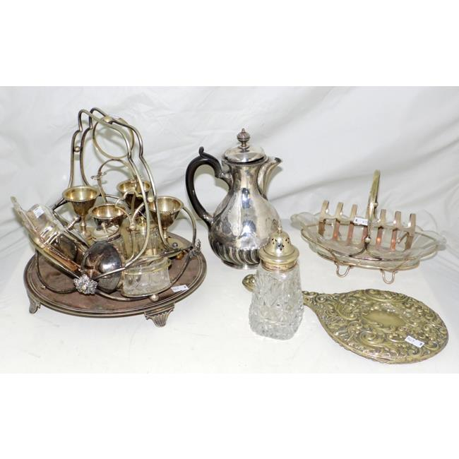 Antique Collection of Silver Plate EPNS