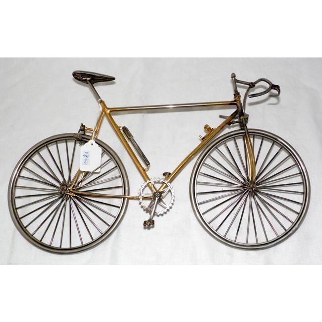Scratchbuilt Model of a Racing Bicycle
