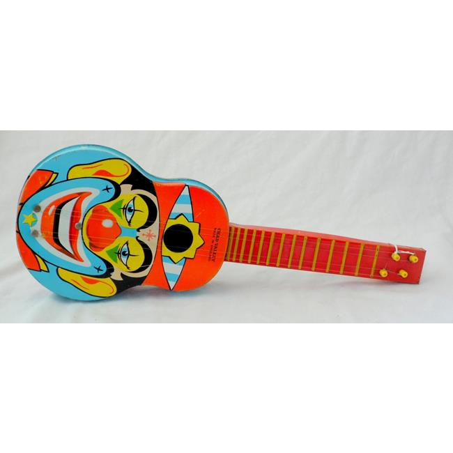 Chad Valley Toy Tinplate Guitar