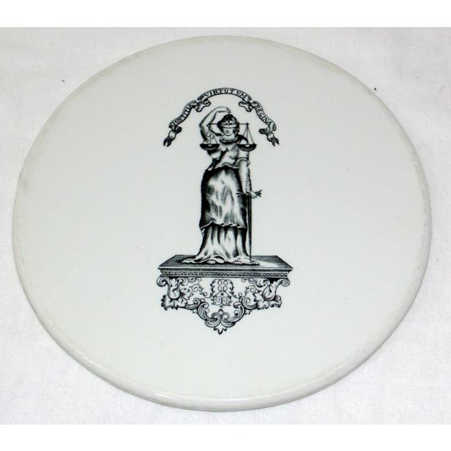 Victorian Worshipful Co.of Goldsmiths Scales Plate