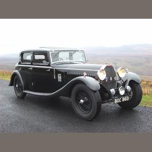 The ex Sam Clutton and Jack Lemon Burton 1930 Bugatti